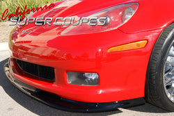 Front Splitter for Chevrolet Corvette C6, Z06, ZR1, and Grand Sport by CSC