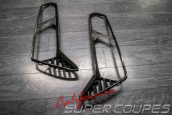 Rear Taillight Bezels Carbon Fiber Chevrolet Corvette C7 2014-2019 By CSC