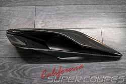 Quarter Panel Top Vents Carbon Fiber Chevrolet Corvette C7 2014-2019 By CSC