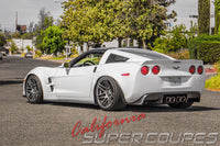 Rear Quarters ZLR Super Wide ZR1 Style for Chevrolet Corvette C6 Coupe by CSC