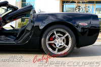 Chevrolet Corvette C5 Coupe Rear Quarters by CSC