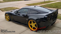 Spoiler (Long End) Chevrolet Corvette C6 by CSC