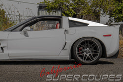 Window Rails for Chevrolet Corvette C6 by CSC