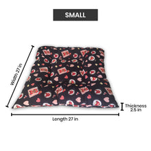 Load image into Gallery viewer, Hiputee Reversible Dual Colour Ultra Soft Velvet Bed for Small/Large Dog & Cat