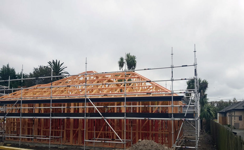 Christchurch Residential Construction Scaffolding