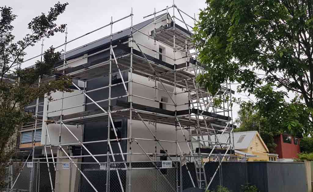 Scaffold For Chester Street - Replaster & Paint