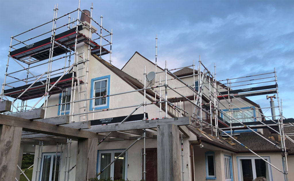 Scaffold For Makara House Painting