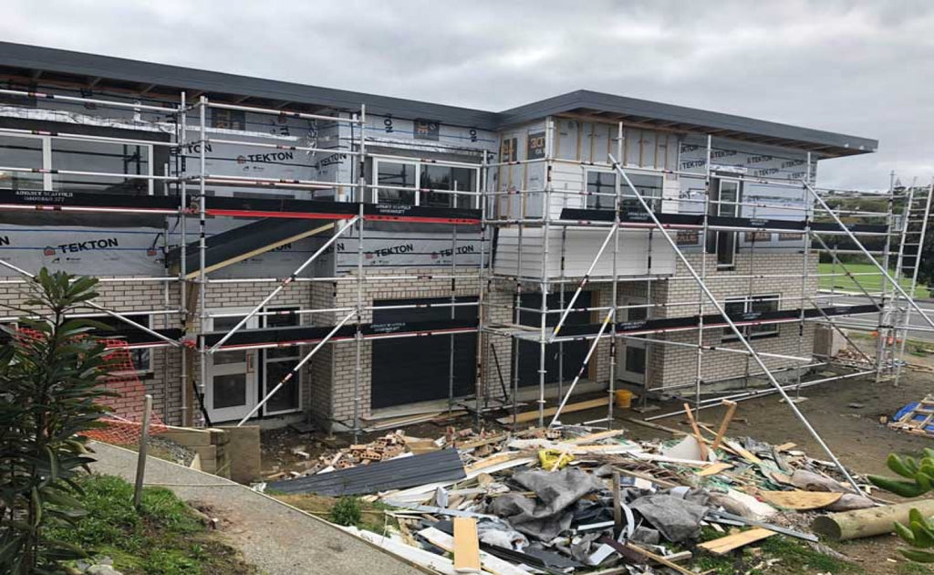 Scaffold For A New Porirua Build