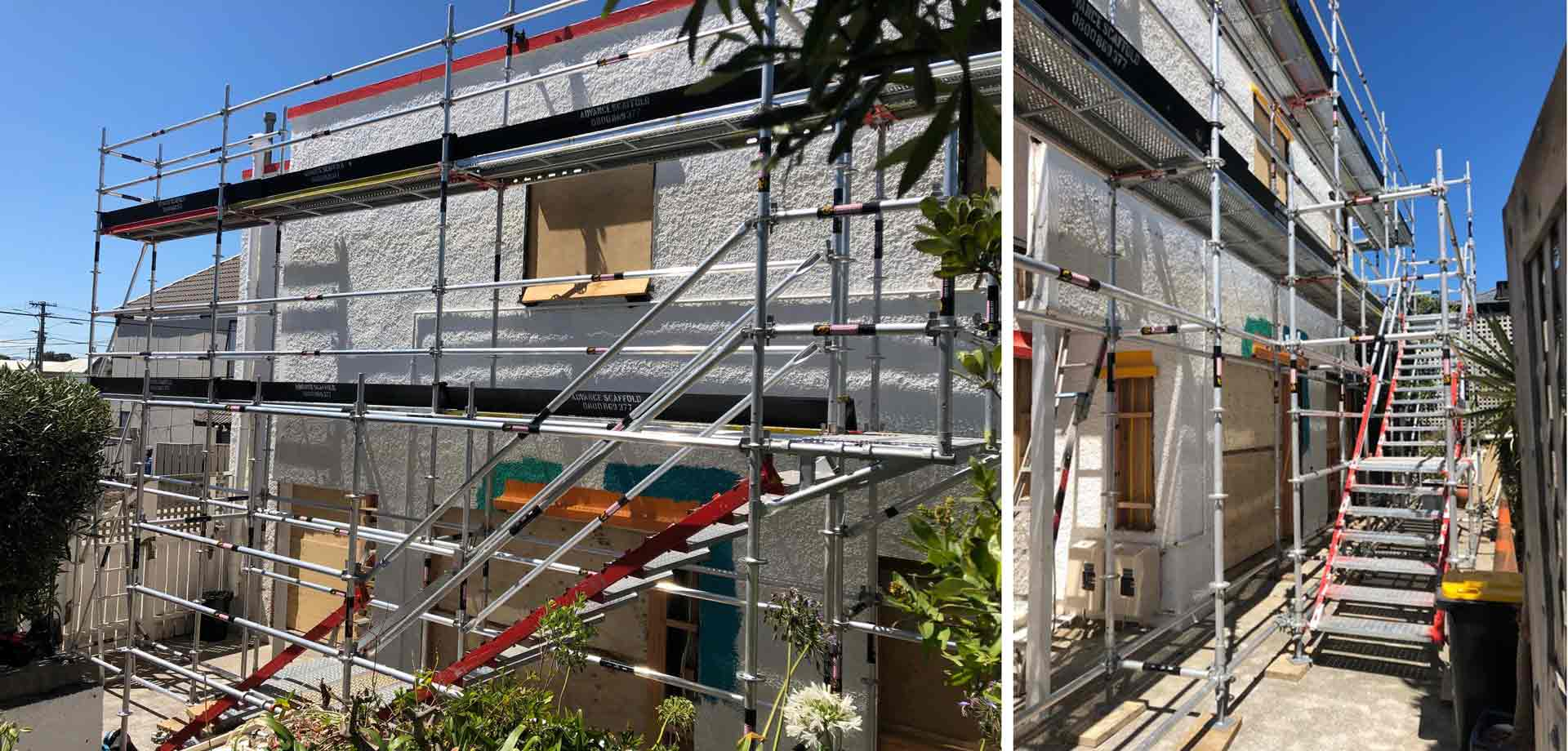 Scaffolding Home renovations