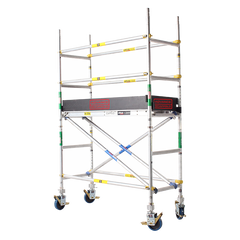 2600 Series Aluminium 0.7m Wide x 1.8m Long  Mobile Scaffold