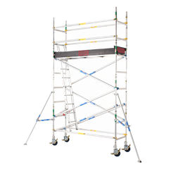 2600 Series Aluminium 0.7m Wide x 2.4m Long Mobile Scaffold