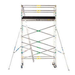Pro Series - Aluminium Mobile Scaffold Tower 0.7m Wide 2.4m Long