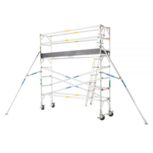 Pro Series - Aluminium Mobile Scaffold Tower 0.7m Wide 3.0m Long