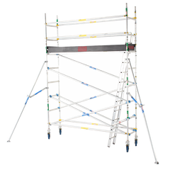 2600 Series Aluminium 0.7m Wide x 3.0m Long Mobile Scaffold