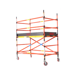 2600 Series Fibreglass 1.2m Wide 2.4m Long Mobile Scaffold