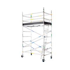2600 Series Aluminium 1.2m Wide x 2.4m Long Mobile Scaffold