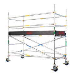 2600 Series Aluminium 1.2m Wide x 3.0m Long Mobile Scaffold