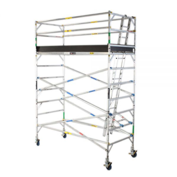 Pro Series - Aluminium Mobile Scaffold Tower 1.2m Wide 3.0m Long