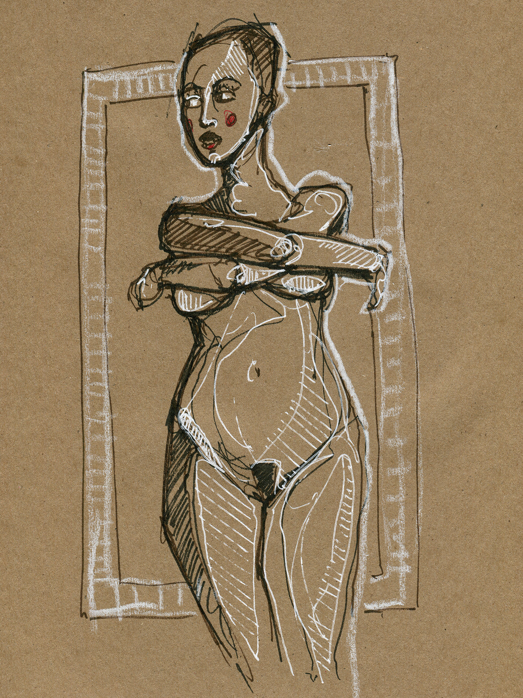 Brown Figure Study #1