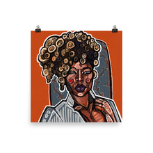 Load image into Gallery viewer, Blonde Pin Curls In Orange