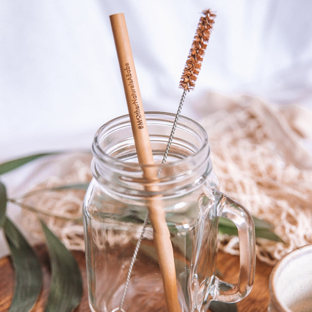 Sustainable Bamboo drinking straws