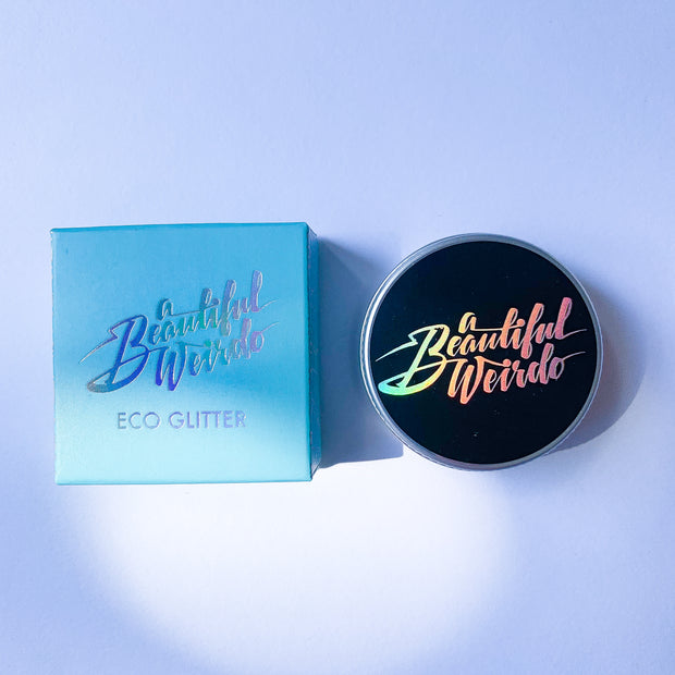 Biodegradable Eco glitter - Cosmic Siren Aqua