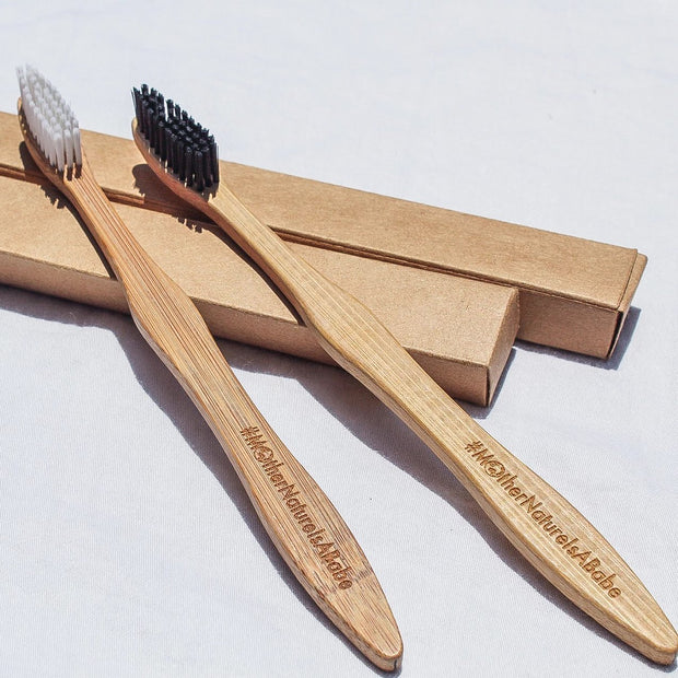 biodegradable sustainable bamboo toothbrush