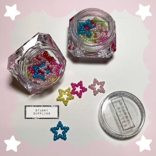 12 MM Hollow Stars