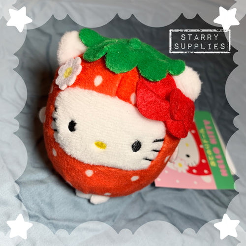 Strawberry Hello Kitty Plush