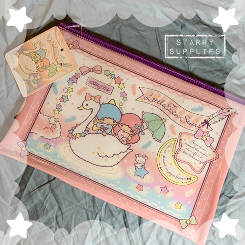Little Twin Stars Swan Pouch