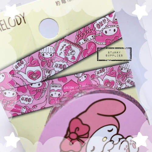 My Melody Washi Tape