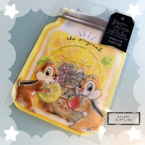 Chip and Dale Yum Time Sticker Flake
