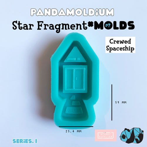 [PRE-ORDER] Star Fragment Molds: Crewed Spaceship