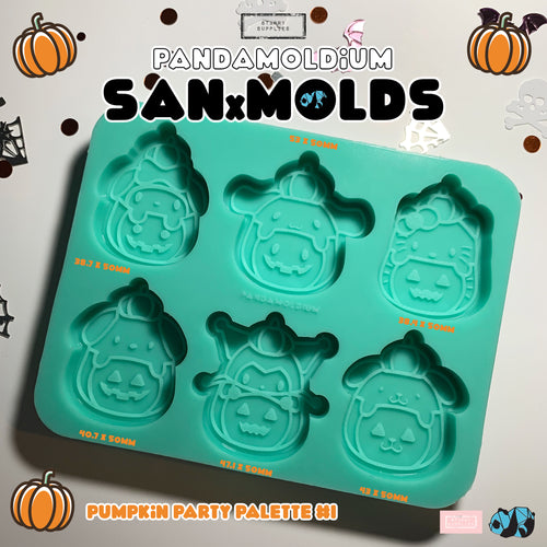 [PRE-ORDER] SanXMolds - Pumpkin Party #1