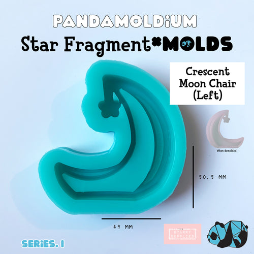 PRE-ORDER] Star Fragment Molds: Crescent Moon Chair Left