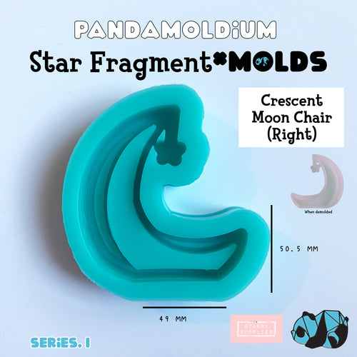 [PRE-ORDER] Star Fragment Molds: Crescent Moon Chair Right