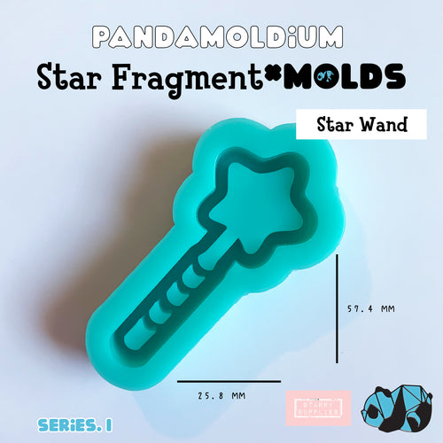 [PRE-ORDER] Star Fragment Molds: Star Wand