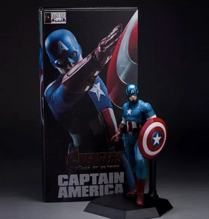Action Figure The Avengers (Capitão America) Crazy Toys