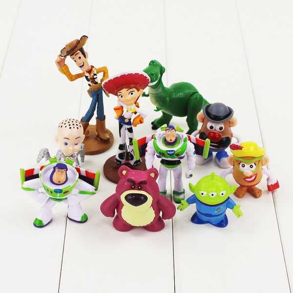KIT Fãs Toy Story 10 Personagens