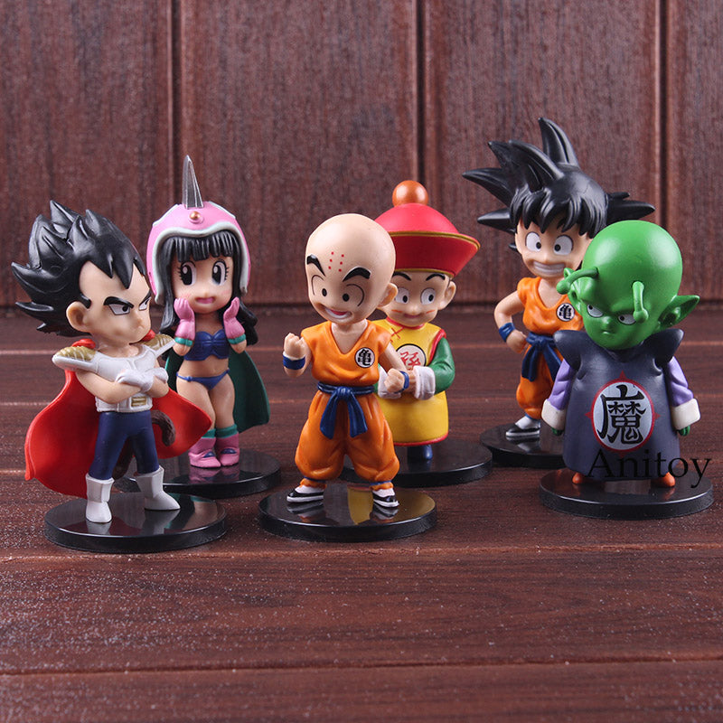 KIT Dragon Ball Dragon 6 Personagens