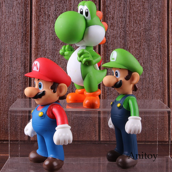 Trio Super Mario 3 Personagens