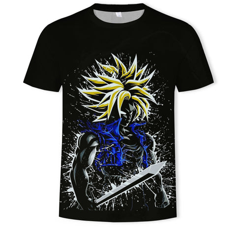 Camiseta Dragon Ball Trunks