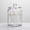 1701 Nougat Filled Glass Jar (1kg, +/-50 Pieces) - 1701 Nougat & Luxury Gifting (Pty) Ltd