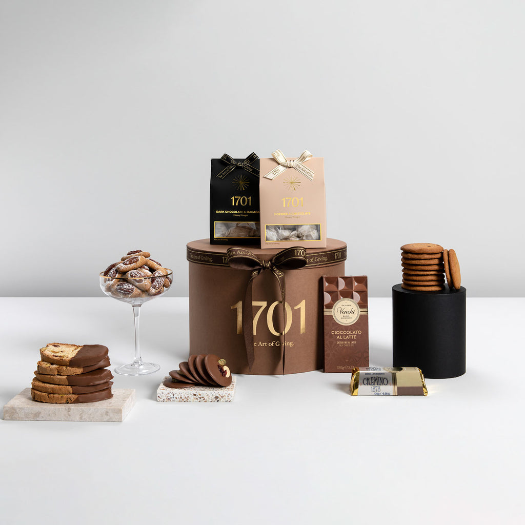 Cocoa Lover's Gift Box - 1701 Luxury Gifting and Honey Nougat - Order Online Johannesburg South Africa