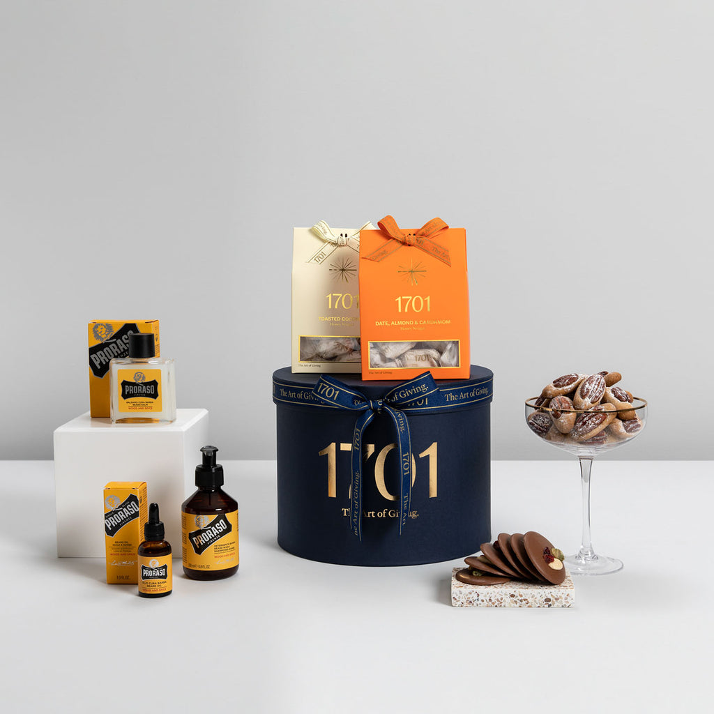 Italian Pampering for Him - 1701 Luxury Gifting and Honey Nougat - Order Online Johannesburg South Africa