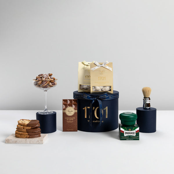 The Italian Barber Shop Gift Box - 1701 Nougat & Luxury Gifting (Pty) Ltd