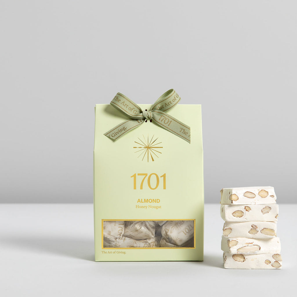 Almond Nougat Box (160g) - 1701 Luxury Gifting and Honey Nougat - Order Online Johannesburg South Africa