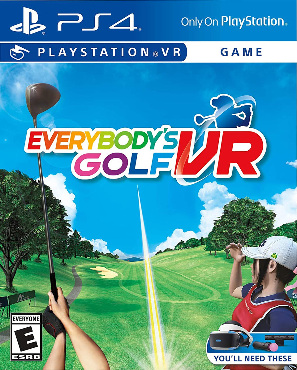 Everybody's Golf VR  Full Game Download (Playstation 4)