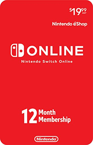 Nintendo Switch Online Individual Membership [Digital Code]