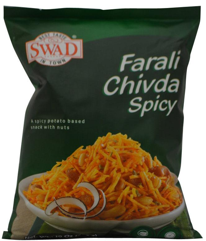 Swad  Farali Chivda Spicy Potato Snack 10 oz